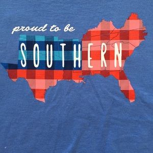 """Crown & Ivy """"Proud to be Southern"""" t-shirt"""